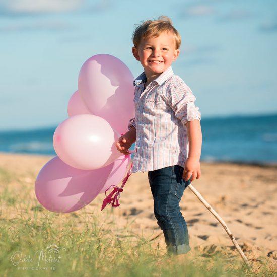 photo oléron enfant plage