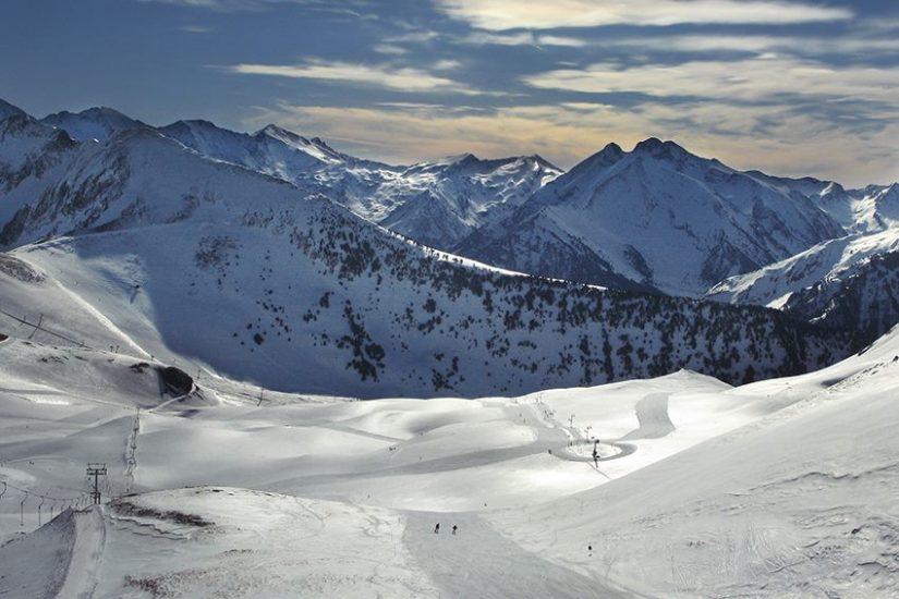 photo pyrennes neige montagne saint-lary