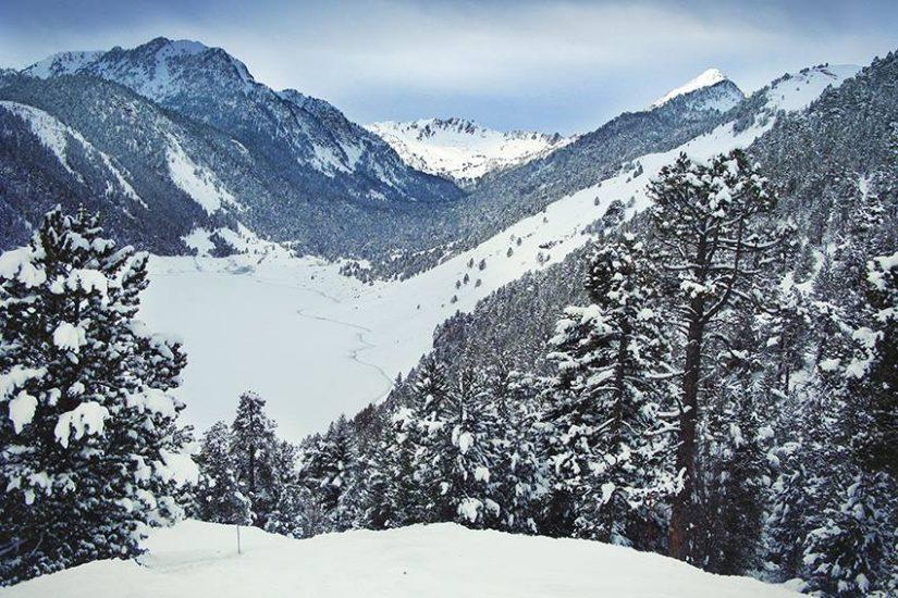 neige montagne saint-lary