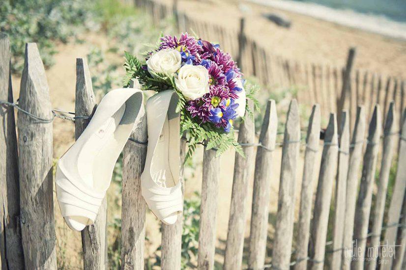 photographie mariage oleron bouquet