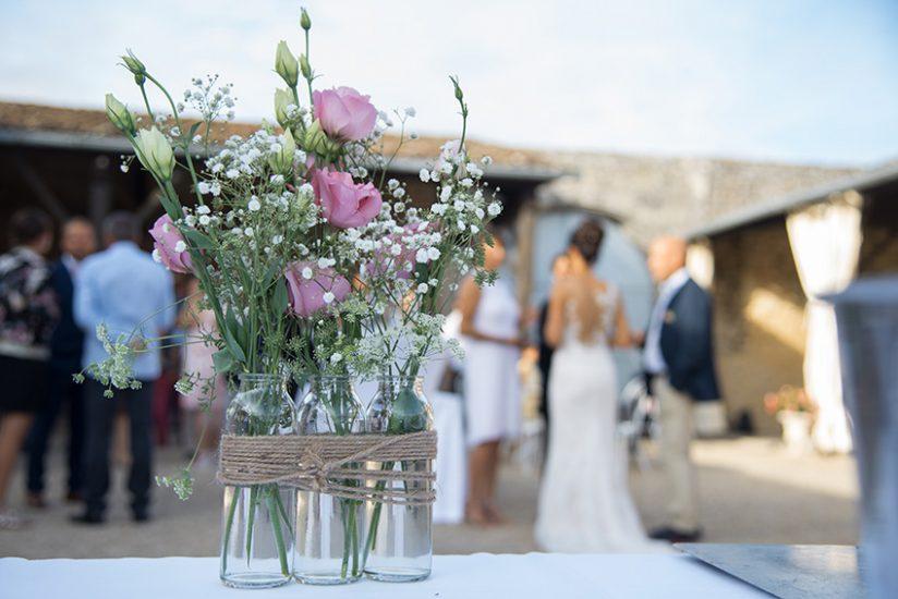 photographie mariage oleron decoration champetre