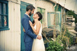 photo mariage oleron protographe cabanes originale