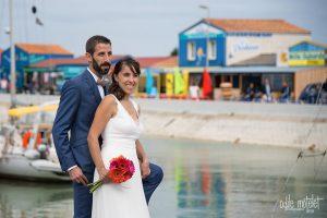 photo mariage oleron protographe bateau originale