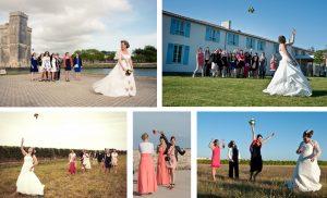 mariage oleron bouquet photographie