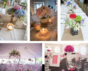 decoration mariage oleron fleurs tables