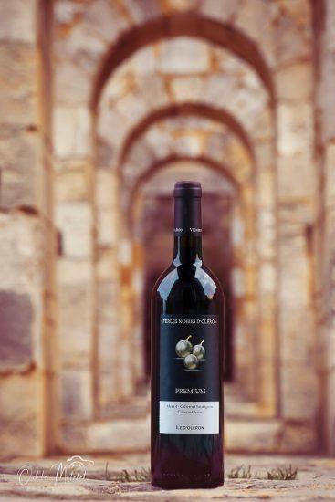 photo bouteille vin oleron